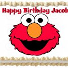 "Edible ELMO image cake topper 1/4 sheet (10.5"" x 8"")"