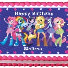 "Edible QUESTRIA GIRLS Party image cake topper 1/4 sheet (10.5"" x 8"")"