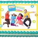 "Edible FRESH BEAT BAND image cake topper 1/4 sheet (10.5"" x 8"")"