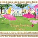 """Edible PINKALICIOUS  image cake topper 1/4 sheet (10.5"""" x 8"""")"""