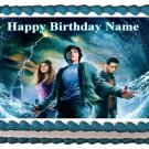 "Edible PERCY JACKSON AND THE OLYMPIANS image cake topper 1/4 sheet (10.5"" x 8"")"
