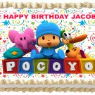 "Edible POCOYO image cake topper 1/4 sheet (10.5"" x 8"")"