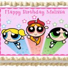 "Edible POWERPUFF GIRLS image cake topper 1/4 sheet (10.5"" x 8"")"