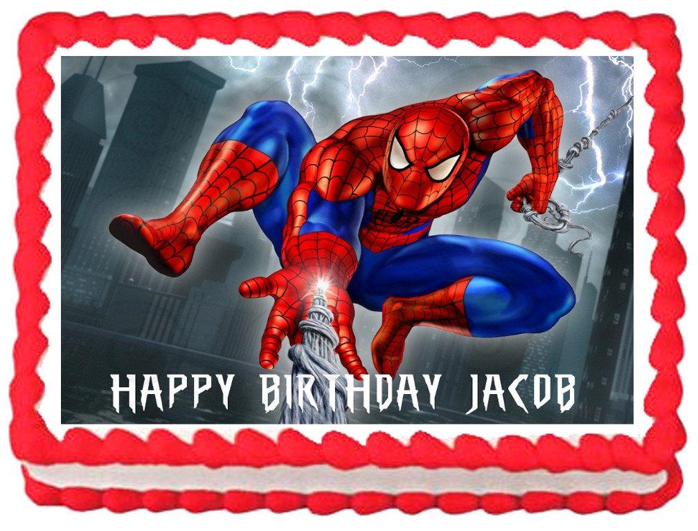 Ebay Spiderman Cake Topper