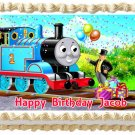 "Edible THOMAS AND FRIENDS image cake topper 1/4 sheet (10.5"" x 8"")"