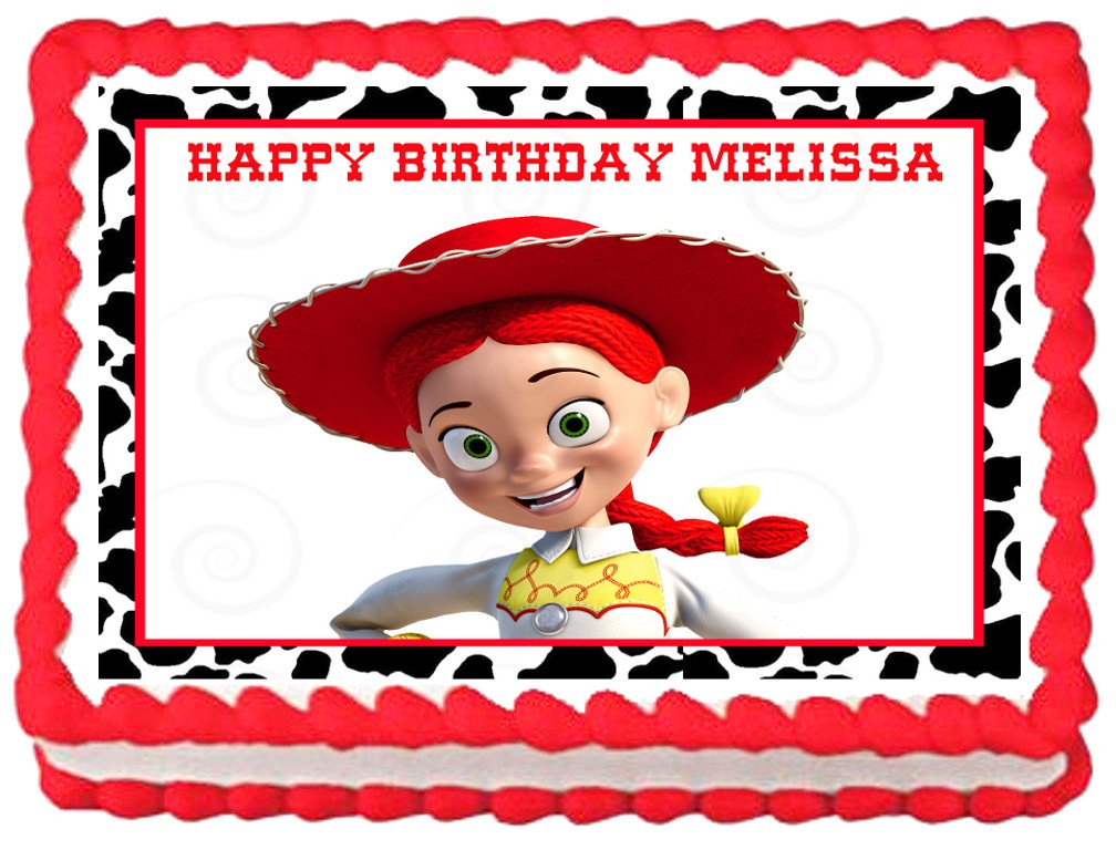 Jessie Toy Story Edible Cake Topper