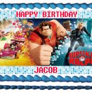 "Edible WRECK IT RALPH image cake topper 1/4 sheet (10.5"" x 8"")"
