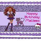 "Edible CLAWDEEN WOLF Princess image cake Topper 1/4 sheet (10.5"" x 8"")"