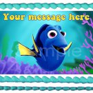 "Edible FINDING DORY image cake Topper 1/4 sheet (10.5"" x 8"")"