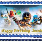 "Edible NINJAGO image cake Topper 1/4 sheet (10.5"" x 8"")"