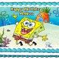 "Edible SPONGEBOB Squarepants image cake Topper 1/4 sheet (10.5"" x 8"")"