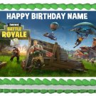 "FORTNITE Battle Royale Edible Party image cake topper 1/4 sheet (10.5"" x 8"")"