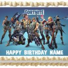 "FORTNITE Edible Party image cake topper 1/4 sheet (10.5"" x 8"")"