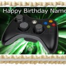 "Xbox one REMOTE CONTROLLER Edible cake Topper Party image 1/4 sheet (10.5"" x 8"")"