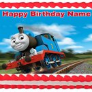 """THOMAS AND FRIENDS Edible cake Topper Party image  1/4 sheet (10.5"""" x 8"""")"""