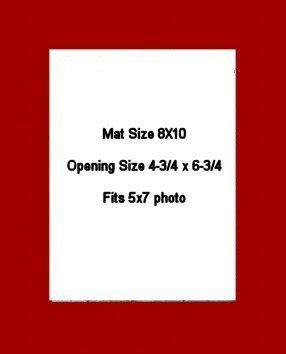 8X10 PHOTO MAT -  Cherry