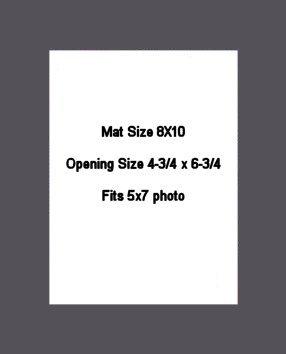 8X10 PHOTO MAT -  Granite