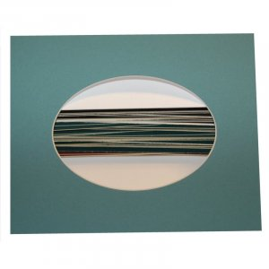 8 x10 Oval Photo Mat - Pkg of 50 -  (4.5 x 6.5 opening)