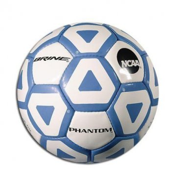 Brine Phantom Soccer Ball - Size 5 - Carolina Blue / White - NEW
