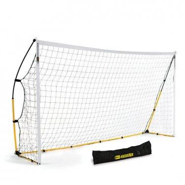 SKLZ Quickster 12 x 6 foot Portable Soccer Net - Quick Set Up Goal (Kickster)