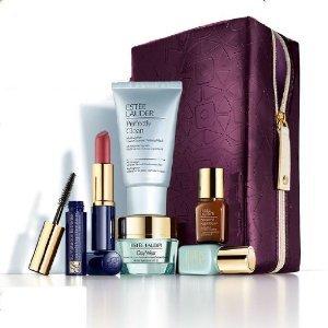 Estee Lauder 2013 Gift Set $135 Value including Skincare Duo, Advanced Night Re.