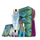 ESTEE LAUDER GIFT SET (Advanced Time Zone Anti-Wrinkle Choice)Peacock FeatherBag