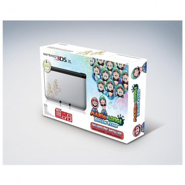 NEW Nintendo 3DS XL: Mario and Luigi Dream Team Limited Edition Silver Console