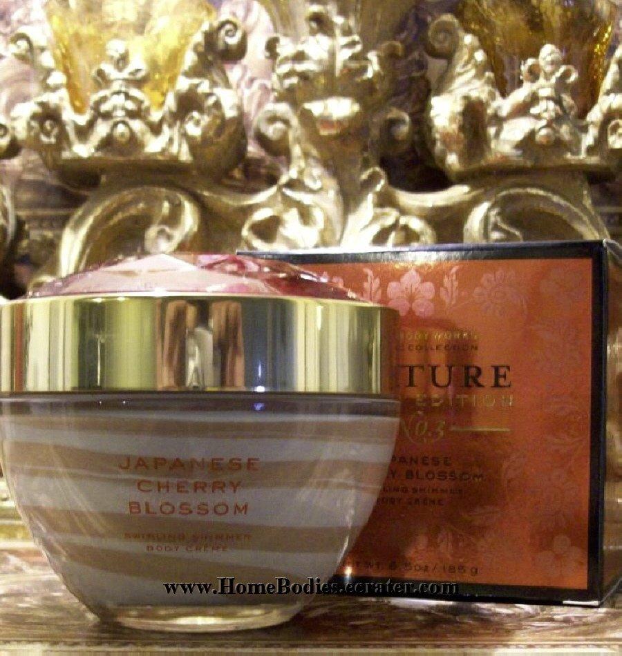 Bath & Body Works Japanese Cherry Blossom Shimmer Cream