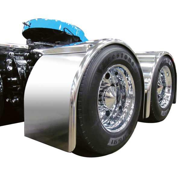 95' Super long single Axle fenders