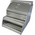 "24"" Big mouth aluminum step tool box"