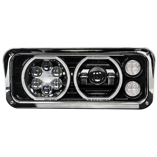 Universal Blackout LED Projector Headlights