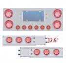 "SS Center Panel/Rear Light Bar Set w/2.5"" Spacing"