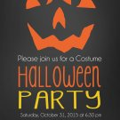 WICKED PUMPKIN HALLOWEEN INVITES|Halloween Invitations