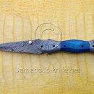 Venombite Custom Damascus Handmade Folding Knife - Liner Lock (ARS-764)