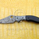 Storm Custom Damascus Handmade Folding Knife - Liner Lock (ARS-762)