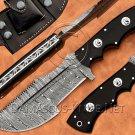 Handmade Damascus Steel Full Tang Survival Tracker Knife NB2018