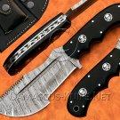 Handmade Damascus Steel Tracker Knife Survival Knife Camping Knife Damascus Steel Knife NB0970K