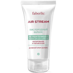 AIR STREAM OXYGEN BALANCE - Balancing Day Cream from FABERLIC - Free Shipping