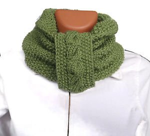 Hand knitted ladies scarf and collar. FREE SHIPPING