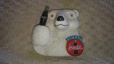 cola bear refrigerator magnet