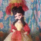display doll yellow