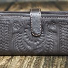 Ropin West Brown Tooled Leather Wallet - RW6206
