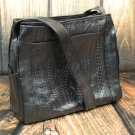 Ropin West Black Tooled Leather Purse - RW978