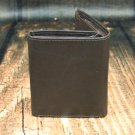 Men's Black Leather Wallet - Trifold PT2606