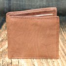 Men's British Brown Leather Wallet - Bifold PT2319