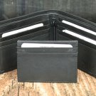 Men's Black Leather Wallet - Bifold PT2218