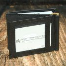 Men's Black Leather Wallet - Bifold PT2107B