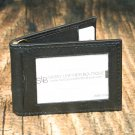 Men's Black Leather Wallet - Bifold PT2182