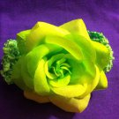 DESIGNS BY AMY GREEN FLOWER HEADBAND! PERFECT FOR SPRING! MADE IN THE USA