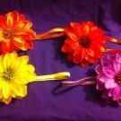 DESIGNS BY AMY BEAUTIFUL FLOWER HEADBAND. CHOOSE YOUR COLOR! MADE IN USA